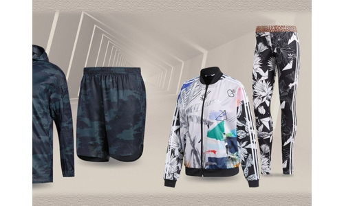 Tropical, camouflage design highlight Adidas new arrivals