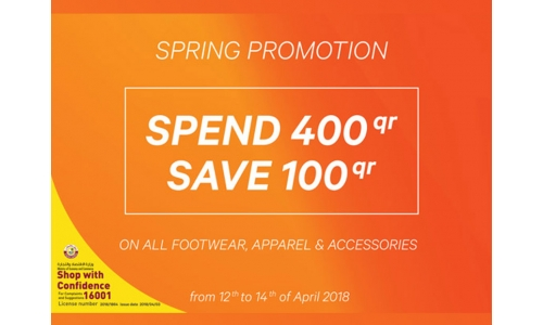 Celebrate Spring with Adidas & Sports Corner's 'Spring Promotion'