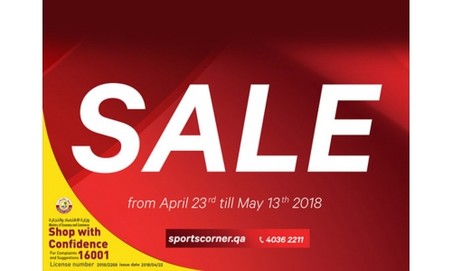 The Sports Corner & Adidas 'Summer Sale' is here!
