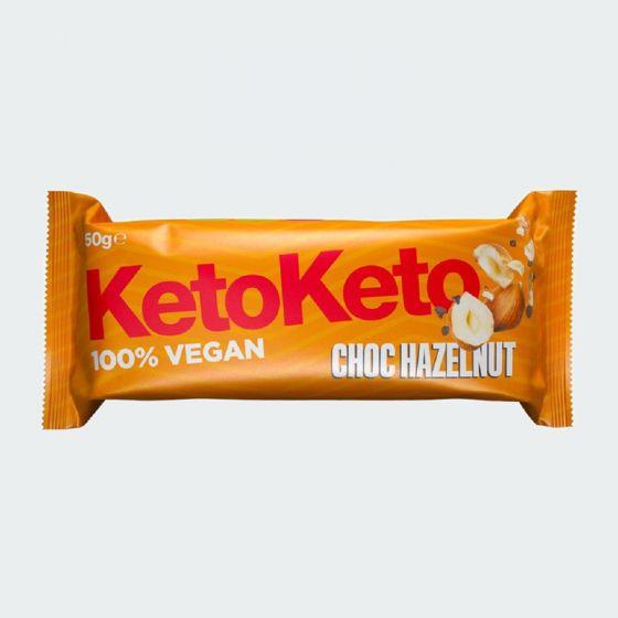 Keto-Keto Choc Hazelnut Bar