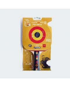 Stiga 3-Star JM Saive Aggressive Table Tennis Racket - Concave