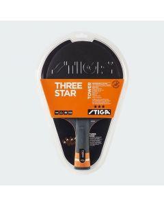 Stiga Tower 3-Star Table Tennis Racket - Concave
