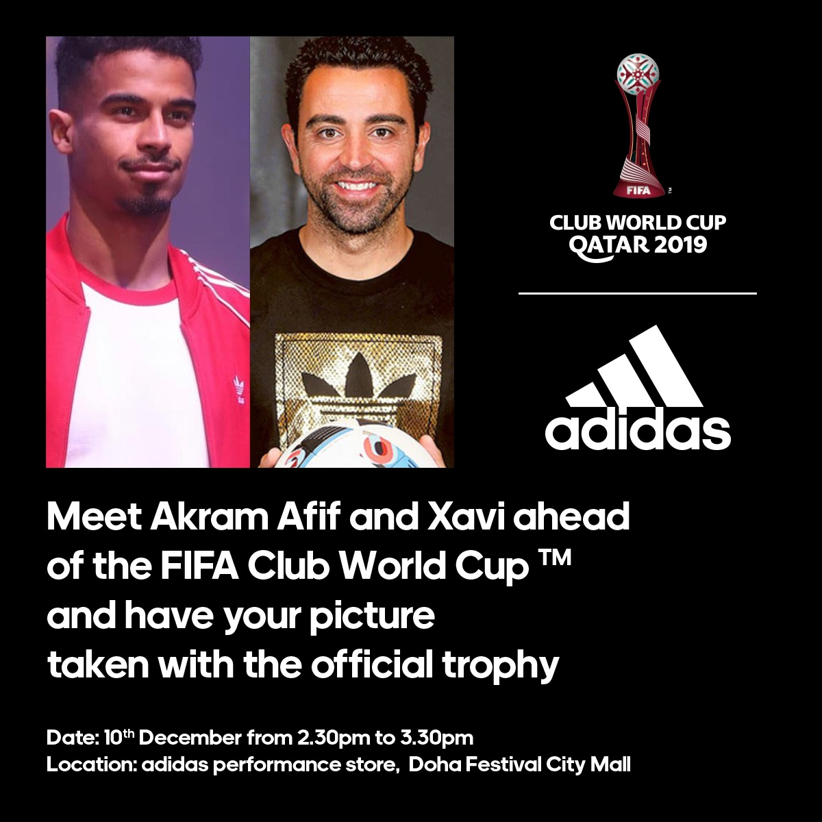 Meet and greet with the best player in Asia and the puppet master at Adidas Store