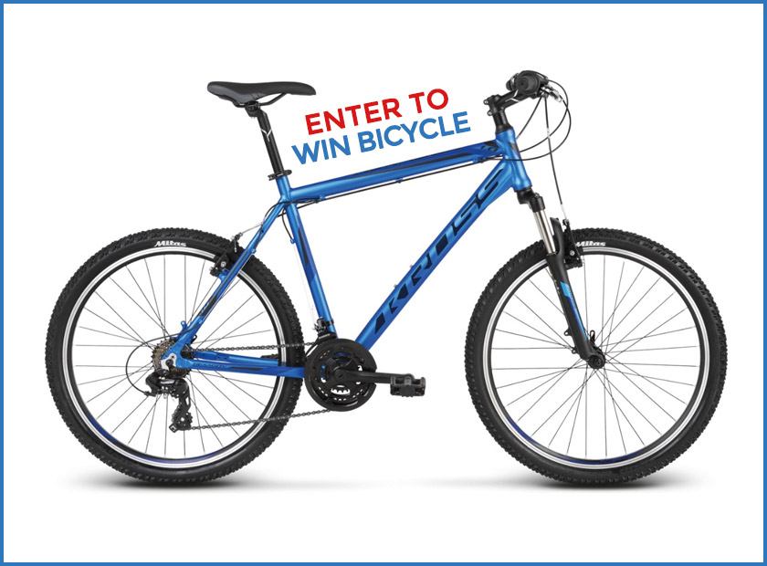 Enter to Win Bicycle