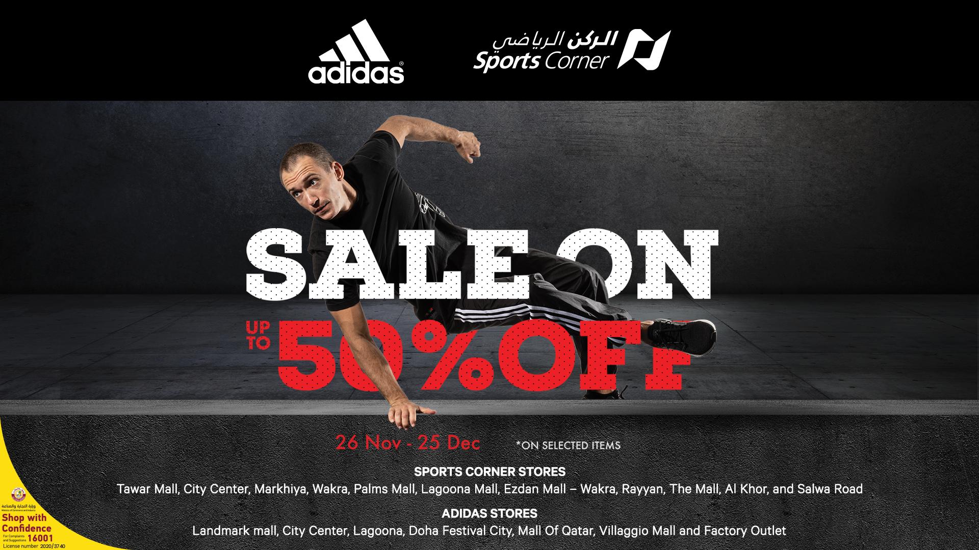 Sports Corner & Adidas Winter Sale is BACK!